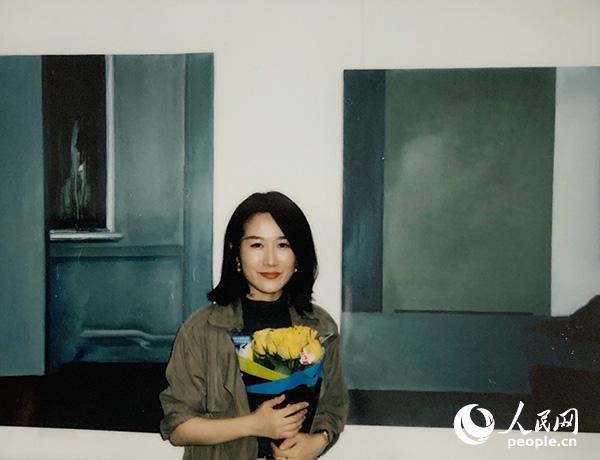 当代艺术家、当代诗人陈燕菲。