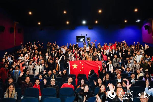 国庆献礼片欧洲热映创纪录《我和我的祖国》观影会伦敦举行