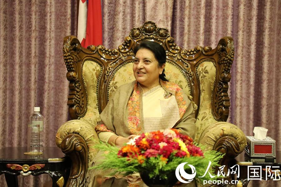 """""""""""尼中关系将达到新的历史高度""""——访尼泊尔总统比迪亚·德维·班达里"""