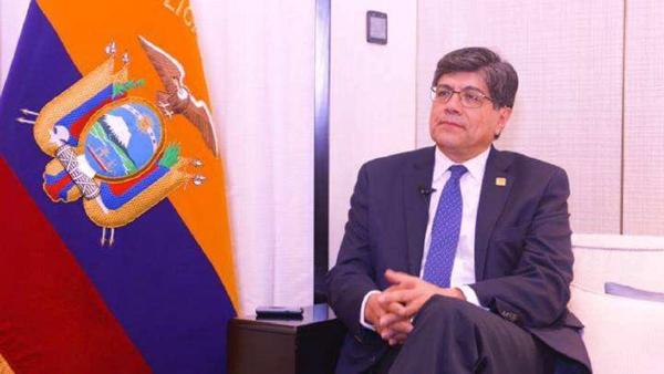 厄瓜多尔外长:厄中必将在全球合作中实现更多共赢
