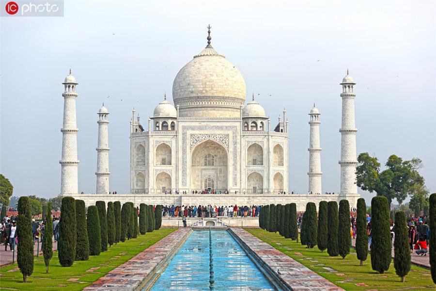 逾300年来首次!印度泰姬陵将更换约400块石砖