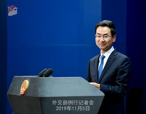 外交部:奉劝美方不要做东亚合作的搅局者