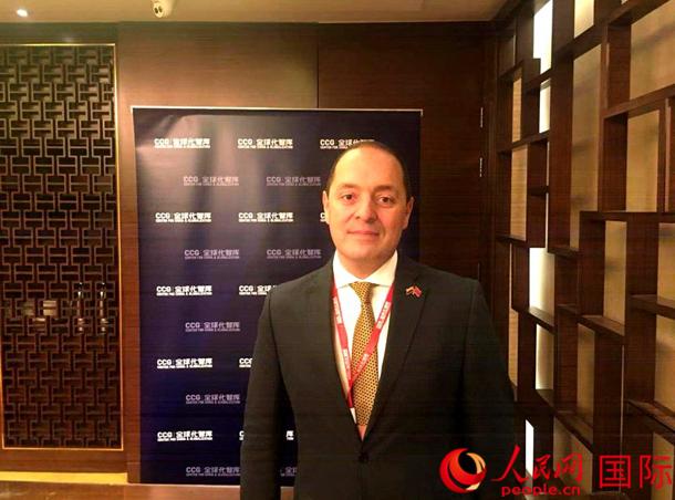 专访哥伦比亚驻华大使:进博会将推动中哥贸易更上层楼