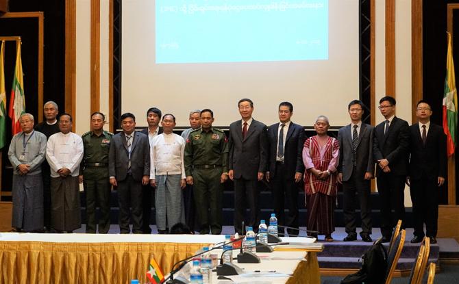 一直非常关心缅甸lian33.com和平进程以及各个领域的发展