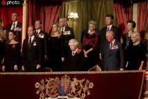 英国王室成员出席皇家军团纪念活动