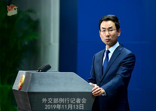 外交部敦促美方立即停止利用香港问题干涉中国内政