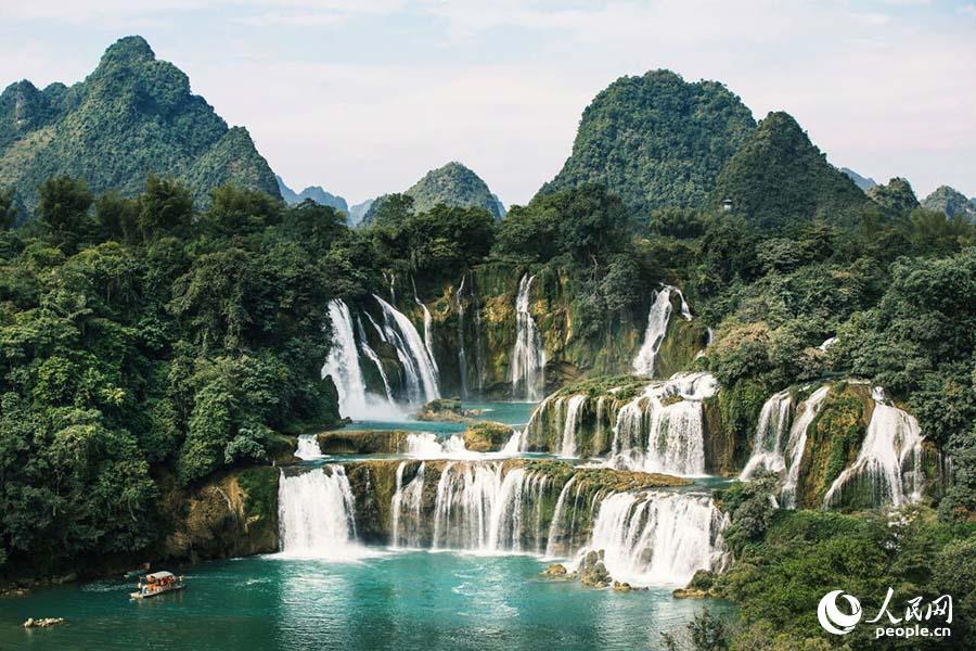 """中越跨国瀑布将打造""""一带一路""""旅游合作标杆项目"""