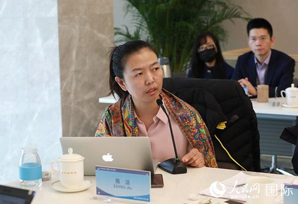 全球治理与国际组织研究所副所长、副教授 熊洁 (贾文婷 摄)