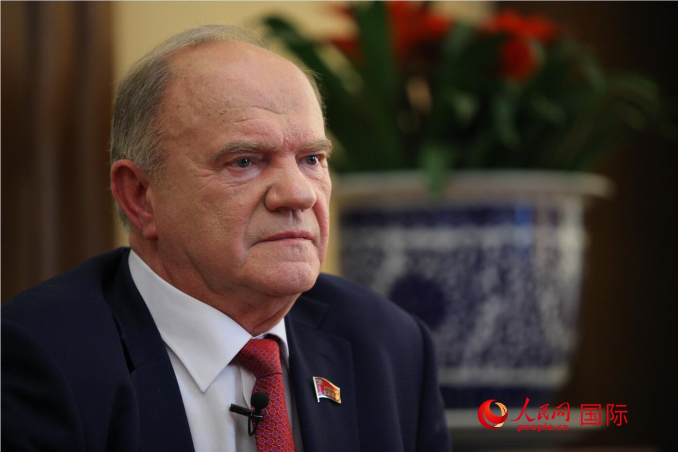 俄共主席久加诺夫:美借助法案干涉别国内政不可容忍