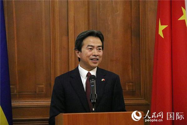 """28名乌克兰师生获得""""中国大使奖金"""""""