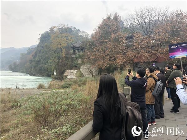 大熊猫、都江堰实力圈粉外国友人
