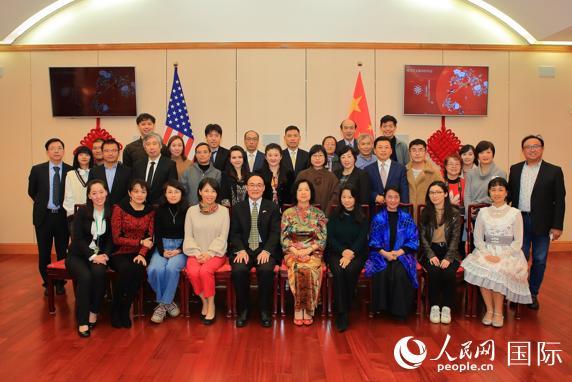 中国驻旧金山总领馆举行华文媒体招待会