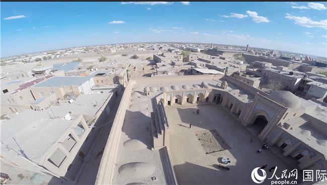 中国援助乌兹别克斯坦历史文化遗迹修复项目通过验收