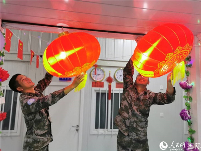 2020新年基伍湖畔传来维和官兵的欢笑声