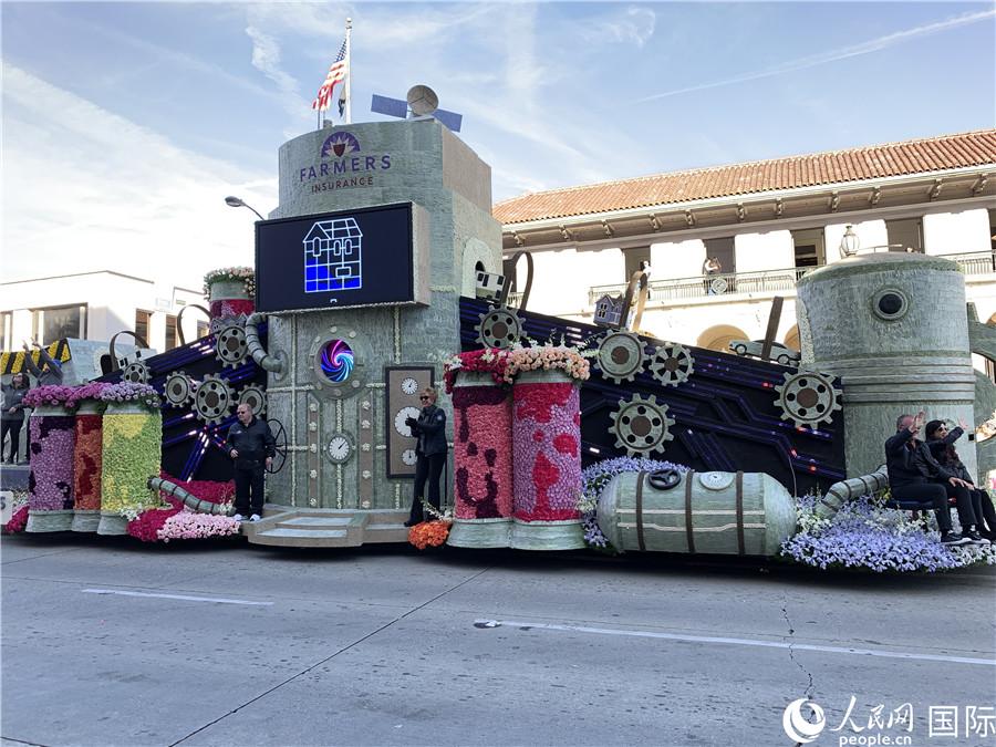 美国加州举办盛大花车游行喜迎2020【5】
