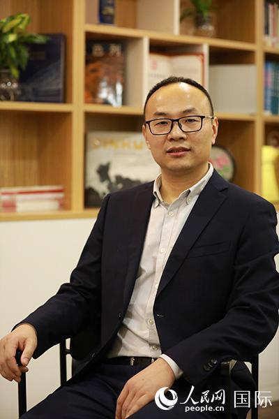 中铁隧道局集团国际事业部总经理刘陈玉 张力洋摄