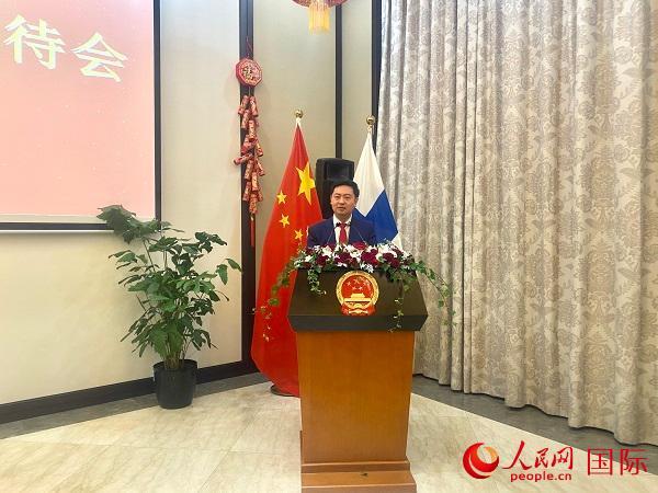中国驻芬兰使馆举办鼠年春节招待会