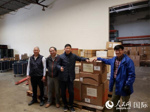 美国华人华侨继续支持国内抗疫斗争 图片由华盛顿同乡联提供
