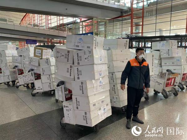 俄罗斯中国总商会倡议并组织向国内捐赠防疫物资活动