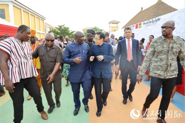 加纳副总统发起万人签名声援中国抗击疫情获广泛参与