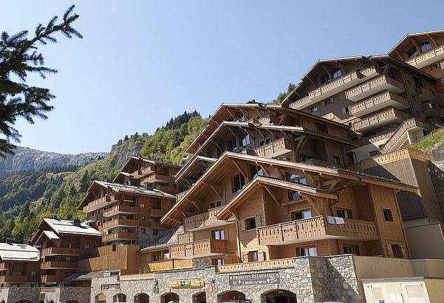 收紧肌肉放松神经法国滑雪胜地如何吸引着众多爱好者