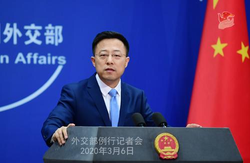 世卫组织专家称中国抗疫模式可以复制外交部回应
