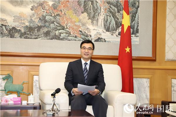 中国驻蒙古国大使柴文睿在蒙古国媒体发表署名文章