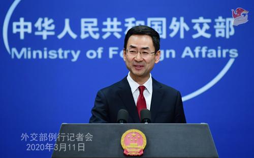 """外交部介绍中国助力全球战""""疫""""五大举措"""