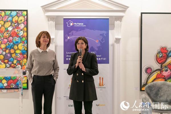 苏菲・玛索参加中法跨境电商平台MaFrance活动(图片:France Asia)