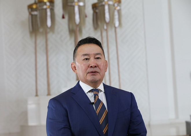蒙古国总统巴特图勒嘎