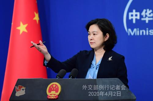 美方指责中方隐瞒疫情信息外交部五连问犀利反击