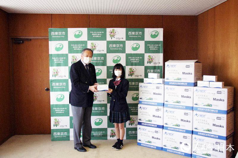 爱心口罩、手写信件 日本年轻群体疫情期间自发善举暖人心