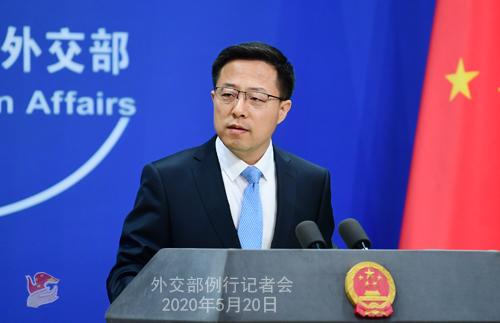 美方拿中国说事威胁断供世卫组织外交部:打错了算盘
