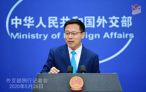 外交部:坚决反对将病毒来源问题政治化、污名化