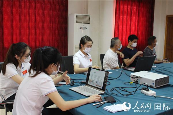 中国第35批援苏丹医疗队开展新冠肺炎防控远程视频交流活动