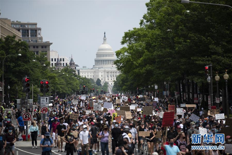 国际观察:反种族歧视抗议背后暴露美国社会顽疾难解