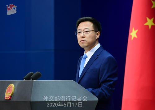 """澳外长称中国进行""""虚假宣传""""外交部:适合戴这顶帽子的恰恰是"""