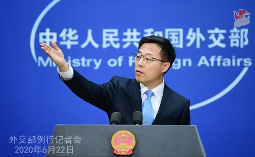 外交部:中方呼吁各方严格管理军品出口