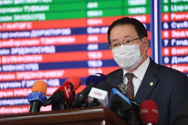 蒙古人民党在议会选举中获绝对多数可单独组阁