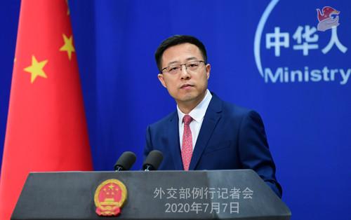"""外交部:香港国安法实施后,""""一国两制""""的根基将得到进一步巩固"""
