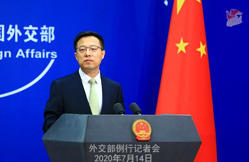 外交部回应蓬佩奥涉南海声明:唯恐南海不乱