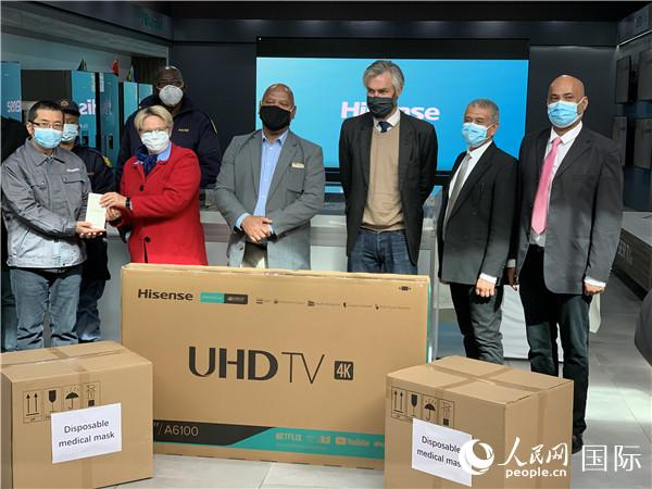 中国企业防疫工作得到南非政府高度评价