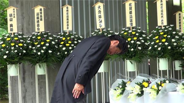 """日本天皇出席""""全国阵亡者追悼仪式""""表示""""深刻反省"""""""