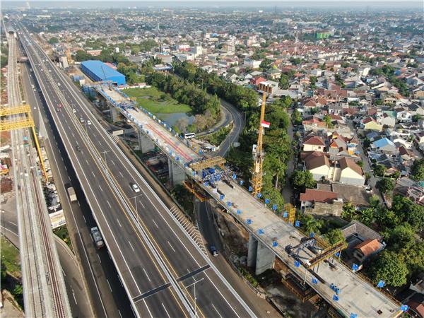 印尼雅万高铁两处连续梁顺利合龙