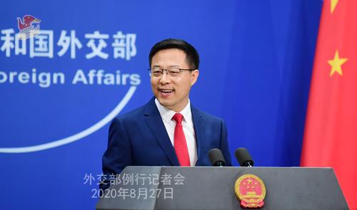 外交部评美涉南海制裁:霸道逻辑、强权政治