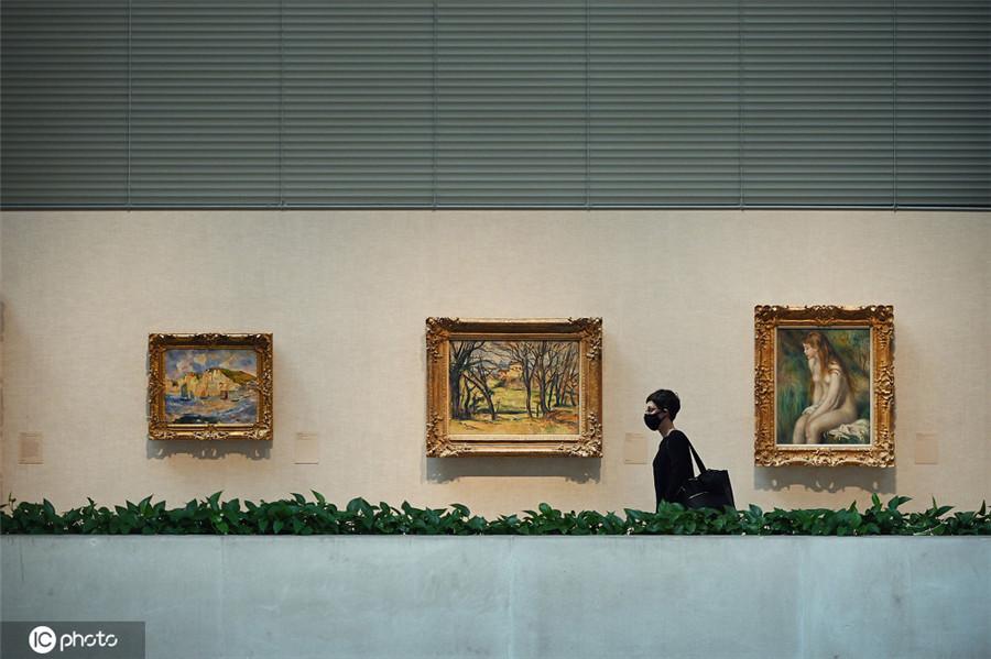 纽约大都会艺术博物馆时隔近半年向公众开放