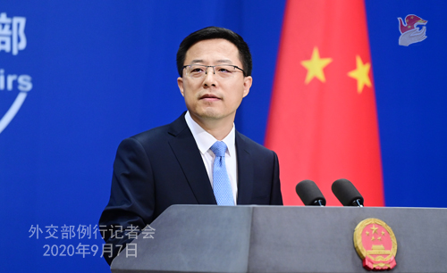 """中国对美驻华记者""""对等限制""""?外交部:倒打一耙"""
