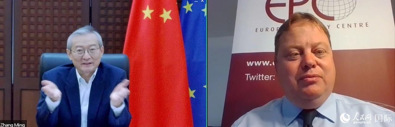 张明大使:稳健成熟的中欧关系对全球具