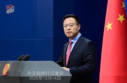 交际部:中国当局高度重视促进和掩护人权