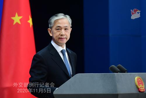 外交部回应暂停部分国家人员来华